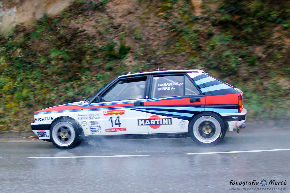 63rd Rally Costa Brava section Cladells, March 2015